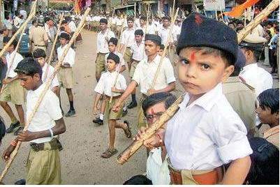 RSS, Pants, Khaki, Women rights, temple entry, Dadri Charkhi, youth, India, Indians