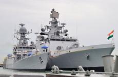 Indian, Warships, Port Kelang, Malaysia