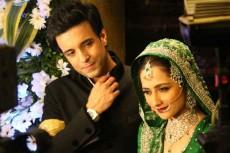 Sanjeeda Shaikh and Aamir Ali