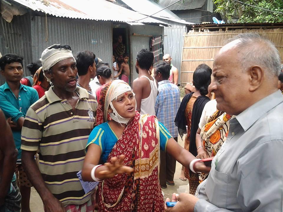 Bangladesh Minority Watch, Rabindra Ghosh attacked, Hindu, Awami League, police officers