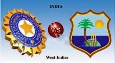 India vs West Indies Test Series 2016