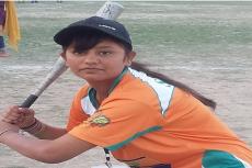 Pak Hindu girl, Tulsi Meghwar, Softball player, Sindh