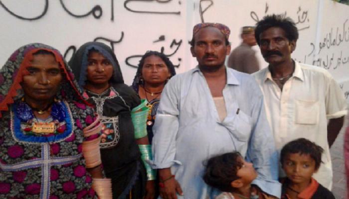 Hindu family, Karachi, Gadap Town, Sindh, Pakistan, Hindus, Bhil, Bheels, SC, ST
