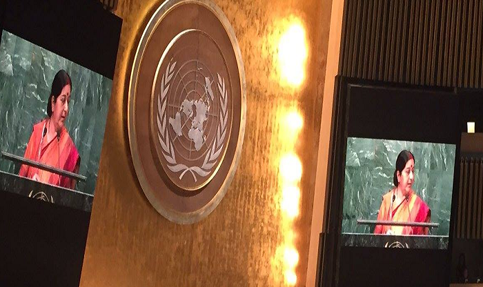 India, UNGA, Sushma Swaraj Speech video, written speech, text