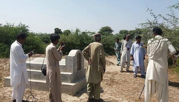 Hindu burial ground, Badin, Islamic extremists, Bhoro Bheel, Sindh, Rabari tribe, Malkani Sharif, Mukesh Meghwar