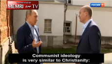 Vladimir Putin, Christianity, Russia, Orthodox Christians, Communism, Communists, Lenin, MEMRI