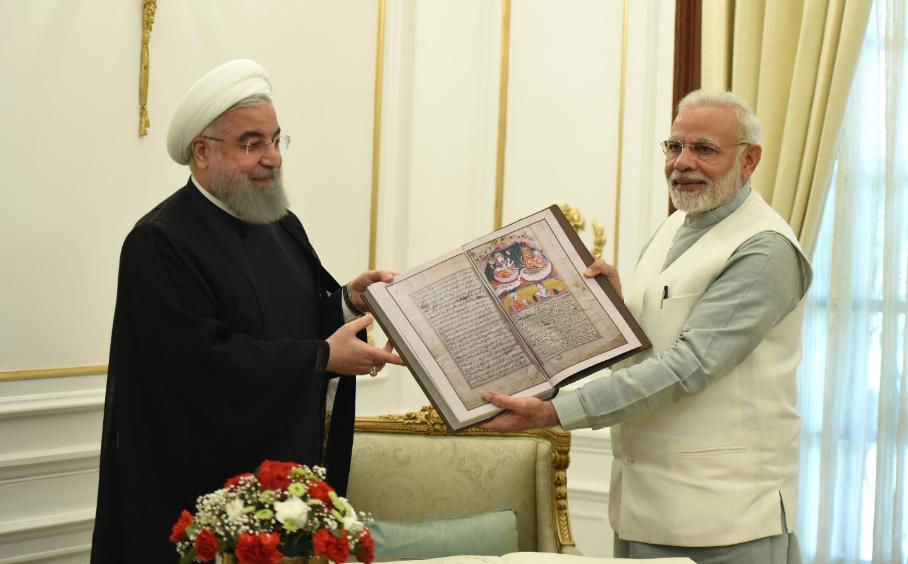 Iran India relations, Farsi, Panchtantra ,Mahabharat,Islamic Republic of Iran, Dr. Hassan Rouhani , Narendra Modi