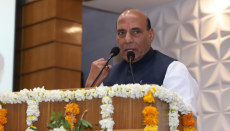 submarine, Rajnath Singh, Defence Minister, India, INS Khanderi, Indian Navy