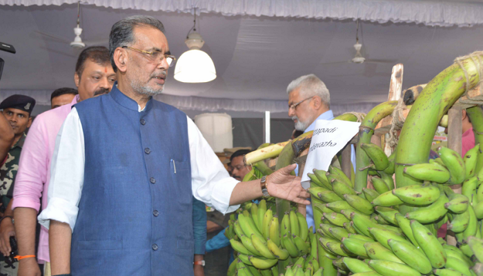 Banana, India, Union Agriculture & Farmers Welfare Minister, Radha Mohan Singh ,National Banana Festival, Kerala, 2018