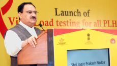 Viral Load test, HIV,AIDS, JP Nadda, India, Health