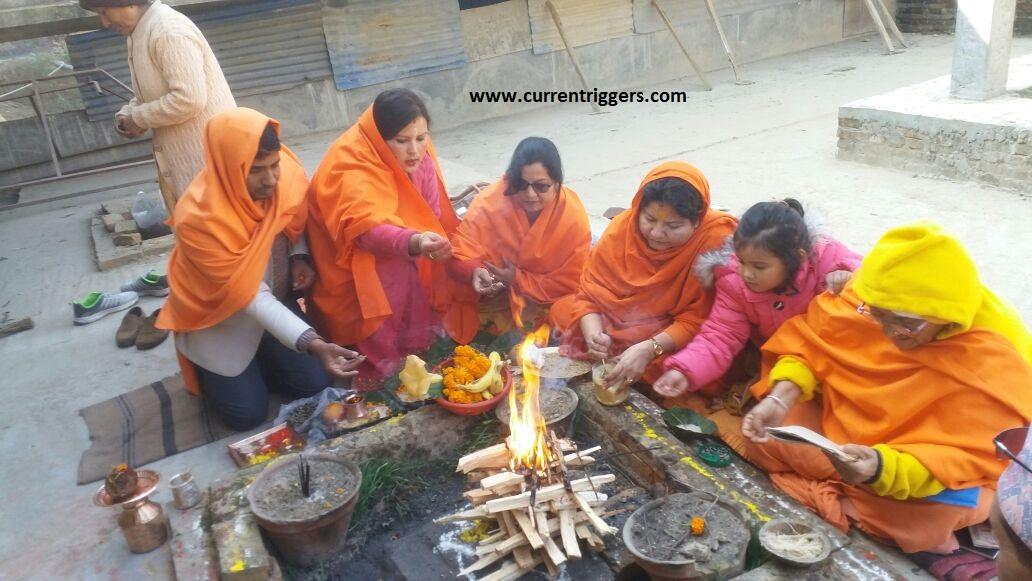 Nepal, Sadhvi Hemanand Giri, Parmanand Jha, Nepal Vishwa Hindu Mahasangh, Vijay Kumar Nishad,Mul Bhatta, Pashupati Nath