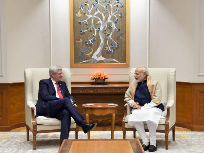 Stephan Harper, Justin Trudeau, India, Canada, India Canada relations, Jaspal Atawal