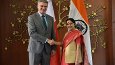 Malta, India, Indians,Minister of Foreign Affairs and Trade Promotion of Malta, Carmelo Abela, Sushma Swaraj, India Malta relations