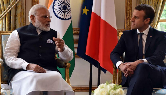 President, France, Emmanuel Macron,Brigitte Marie-Claude Macron, France India bilateral ties, Narendra Modi,Puducherry, Karaikal, Yanam, Mahe , Chandernagore