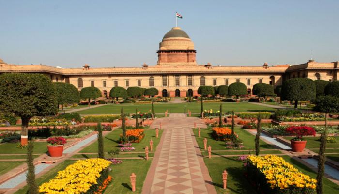 Mughal Gardens , Rashtrapati Bhavan