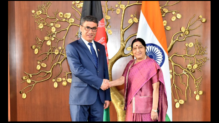 India, Afghnaistan, Minister of National Defence of Afghanistan, Lt. General Tariq Shah Bahrami, Sushma Swaraj, DefEXPO 2018