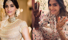Veere Di Wedding, Anand Ahuja, Sonam Kapoor, Bollywood, style, marriage, mehendi, latest photos