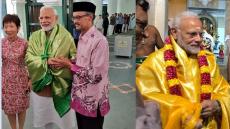 Dendrobrium Narendra Modi, orchid, Narendra Modi, India, Singapore,Buddha Tooth Relic Temple and Museum,Mariamman Temple, Chulia Muslim merchants , Chulia Mosque, Anser Sahib