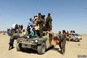 तालिबान और अफगान सरकारी फ़ौजी
