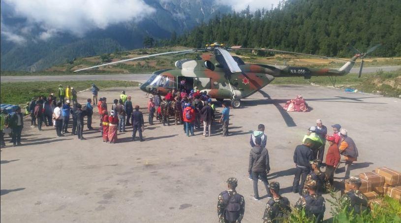 Kailash Mansarovar Yatra, Pilgrimage, Hindus, Hinduism, Buddhist, Buddhism, India, Nepal, Hilsa, Simikot, Nepalganj,Surkhet , Rescue operation, airlift