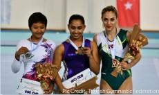 Narendra Modi, Dipa Karmakar, Gold, vault event, FIG World Challenge Cup, Amitabh Bachchan, Biplab Kumar Deb