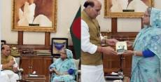 Sheikh Hasina, Rajnath Singh, Rohingyas, India, Rakhine, Myanmar,Bangladesh