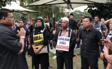 Bukit Aman federal police headquarters, Islam, Christianity,Pemantau Malaysia Baru ,Tang di-Pertuan Agong, DAP, Malaysia , Umno Youth Executive Council , Faisal Ismail Aziz , Umno Supreme Council, Lokman Noor Adam