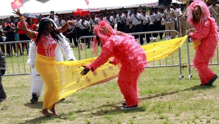 Trinidad and Tobago, saree, People's National Movement, PNM, Gorillas, Mahabharat, Hindus, Hinduism