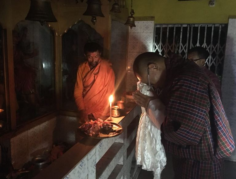 Bhutan,Tshering Tobgay, Hindu Temple, Hinduism, India, Nepal, People's Democratic Party,Zhabdrung Ngawang Namgyel, Bhairabkunda Shiv Mandir Jumotshangka, Thimphu, Devi Panchayan Mandir, Drukpa Kagyu, Nyingmapa Buddhism, Mahayana Buddhism , Nepali, Hindu Population Bhutan
