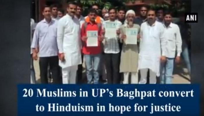 Baghpat, Uttar Pradesh, India, Islam, Muslims, Gharwapsi, VHP, Hinduism, conversion