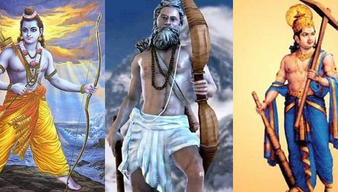 भृगुवंशी, महर्षि श्री जमदग्नि , श्री राम, रघुवंशी, महाराज दशरथ , श्री राम, वृष्णिवंशी , वसुदेव , श्री राम, राम , विष्णु ,हिन्दू, बौद्ध,रावण, दशमग्रंथ,जातक,जैन, वैष्णव , सिख