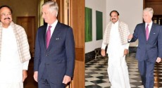 Belgians, ASEM Summit, India, Brussels, Belgium,Vice President of India, M. Venkaiah Naidu, Global Partners for Global Challenges, King Philippe, 2018