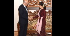 Foreign Secretary , India, Vijay Gokhale,State Counsellor, Daw Aung San Suu Kyi, Rohingya, Rakhine Peace, Myanmar, Muslims,Chin States, Chief of the Myanmar Defence Services, Senior General Min Aung Hlaing, U Win Khant,