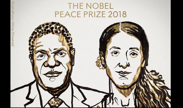 Nadia Murad, Nobel Peace Prize for 2018, Denis Mukwege, Islamic State, Islam, Democratic Republic of Congo, Panzi Hospital,