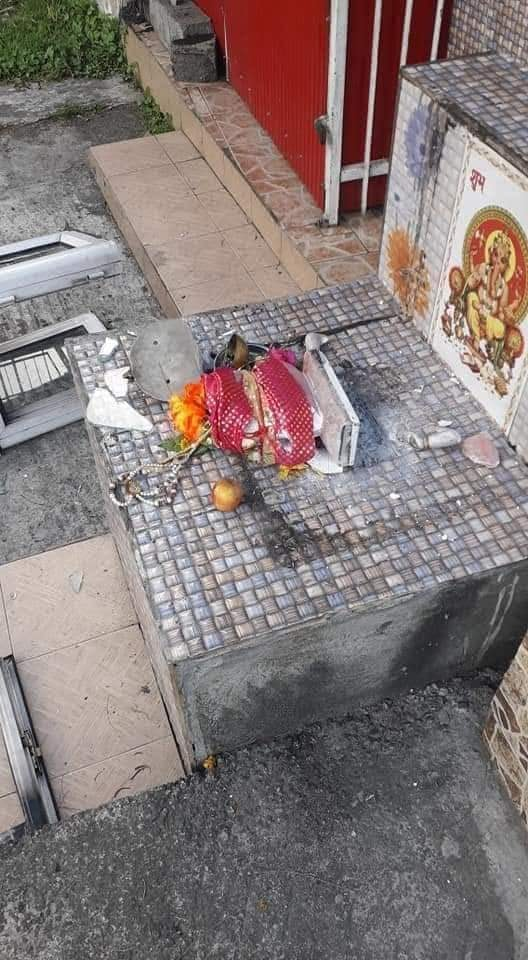 Rose Belle, Mauritius, Kali, Temples, Hindus, Hinduism, Christianity, Mosues, Islam, Temple desecration, Discrimination