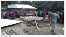 Temple, Hindu, Hindus, Bangladesh, Hinduism, land Grabbing case,Shibgonj Upazila, Chapainowabgon