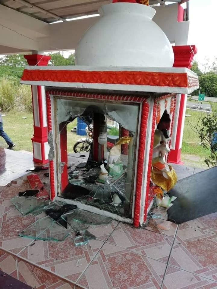 Mauritius, Temple Desecration, Hindu Temples, Mount Ory, Hinduism, Hindus, Rose-Belle, Dhanteras, Bhaidooj, Festivals