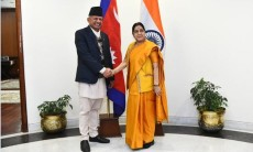 External Affairs Minister, Sushma Swaraj , Foreign Affairs , Nepal, Pradeep Kumar Gyawali, Projects, development, connectivity, latest news, updates