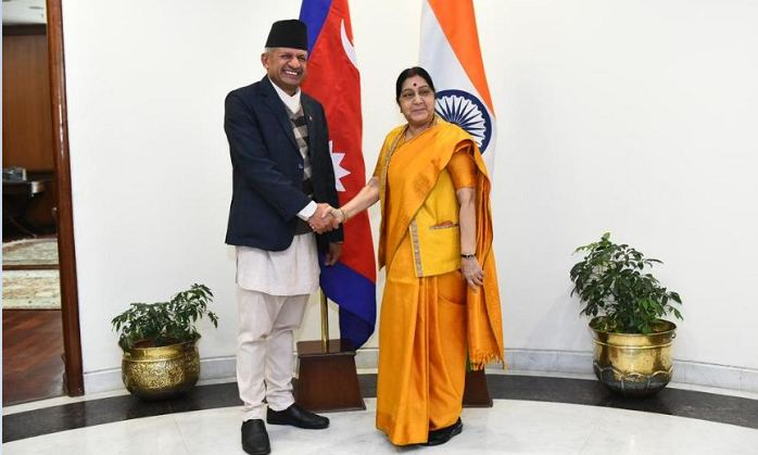 External Affairs Minister, Sushma Swaraj , Foreign Affairs , Nepal, Pradeep Kumar Gyawali, Projects, development, connectivity, latest news, updates