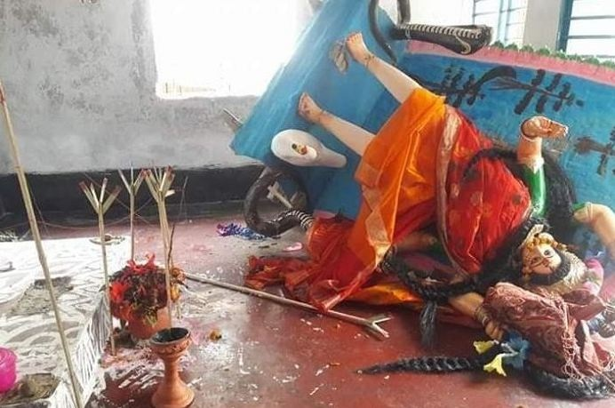 Bangladesh, Hindu Temple , Goddess Mansa Devi , Religion news, Bangladesh, Chitra Paul, National Hindu Grand Alliance,Gobinda Chandra Pramanik, HFS, Hindu Forum Sweden
