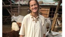 Friederike Irina , Sudevi Dasi, Padma Shri, India, Cows, Radha Kund, Hinduism, Buddhism, Sikhism, Jainism, cow protection news, Modi government