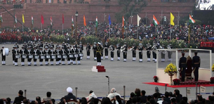 Indian Tunes, Western tunes, Indian Republic Day, 2019, defence, Beating the Retreat, India