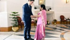 Chingiz Azamatovich Aidarbekov, Foreign Minister , India, Sushma Swaraj, Investment, Business, Trade, Defence, Kyrgyz Republic,