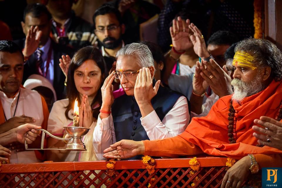 Prime Minister, Mauritius, Kumbh, Lord Hanuman, Sangam, Pravind Jugnauth
