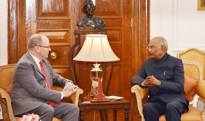 Prince Albert II , Family, India visit, 2019, FICCI, Monaco, Ram Nath Kovind, Sushma Swaraj, Bilateral visit