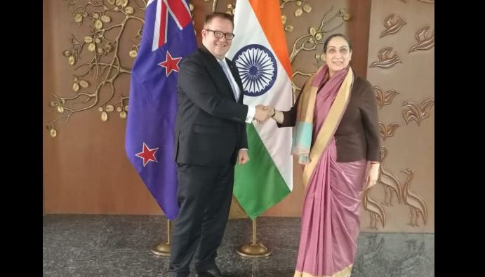 Second Foreign Office Consultations,India , New Zealand, trade, commerce, defence ties