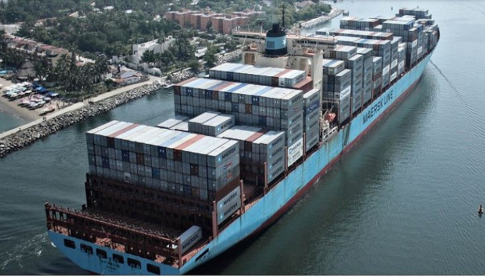 World's largest container shipping company to move containers on