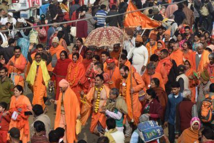 Mauni Amavasya , Shahi Snan, Naga Sadhu,India, Kumbh, Prayagraj Basant Panchami, Hinduism, Hindus