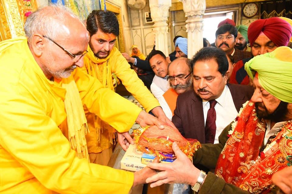 Amarinder Singh, Punjab, Mahashivratri, Lord Shiva, Kar Sewa, latest news, Hinduism, Hindu Temple, Hindus