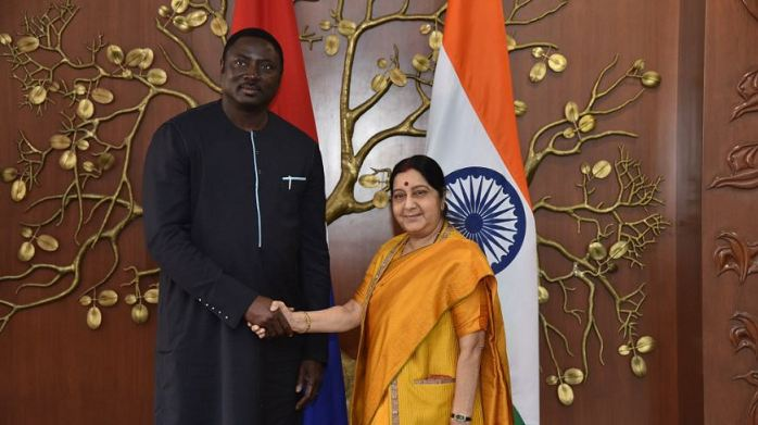 Gambians Abroad, Gambia, Mamadou Tangara,OIC resolution against India, UN, India, Sushma Swaraj